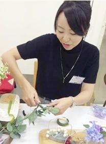 結婚式花冠制作者