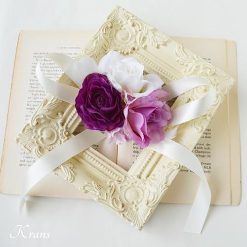 結婚式紫リストレット