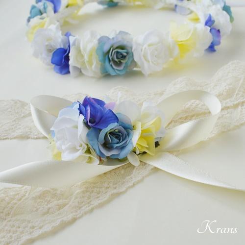結婚式花冠佐々木希コレクションブルーリストレット