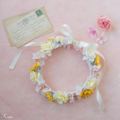 【オーダーメイド】1歳のお誕生日にひまわりの花冠