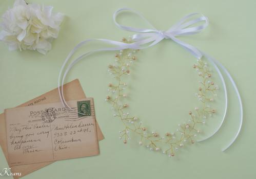 小枝髪かざり結婚式ワイヤーヘアアクセサリー2