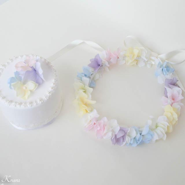 【オーダーメイド】レインボーカラーの花冠