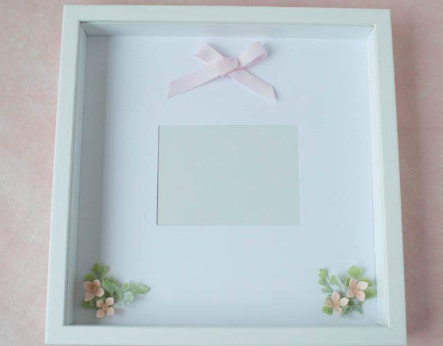 花冠の保存方法ガラスケース