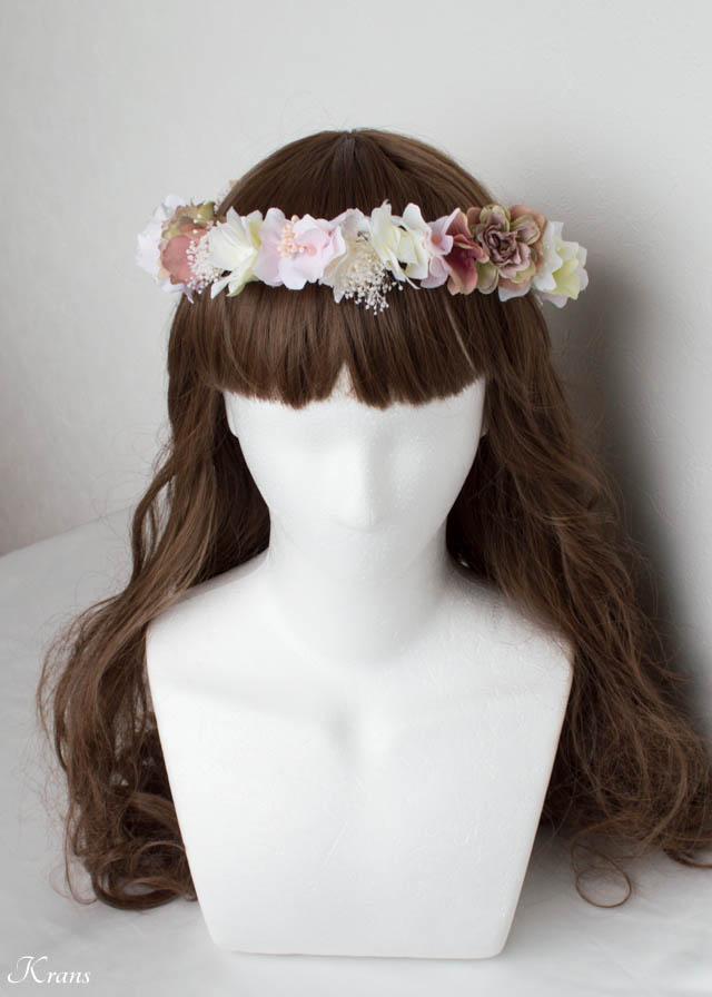 ニュアンスカラー花冠コーディネート