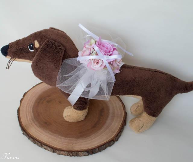 小型犬リングドッグピローピンク8