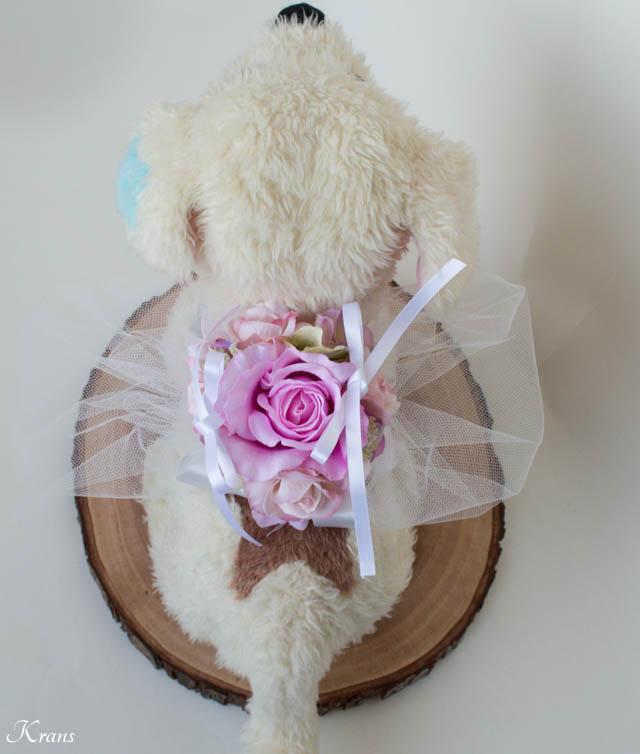 小型犬リングドッグピローピンク5