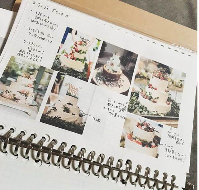 ウェディングノート1