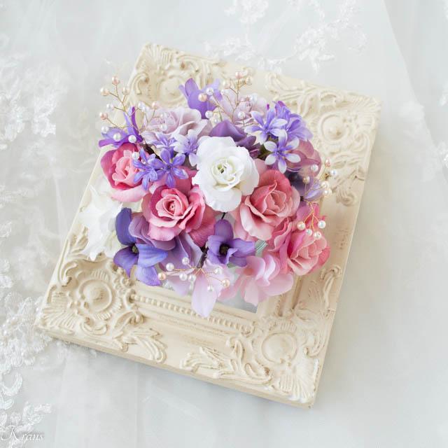 結婚式の髪飾り