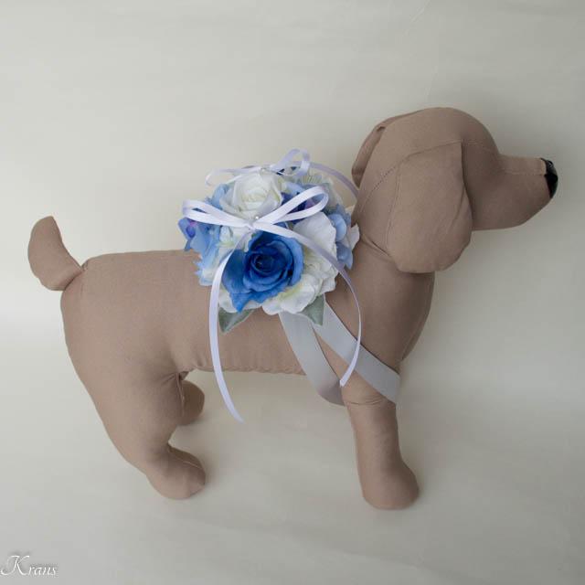 結婚式犬リングピロー