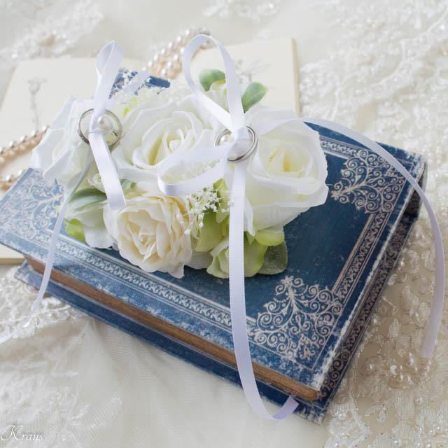 リングドッグ白いバラ2
