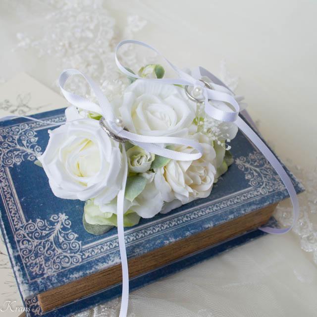 リングドッグ白いバラ3