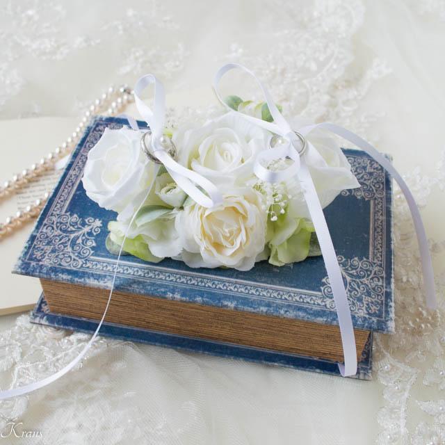 リングドッグ白いバラ4