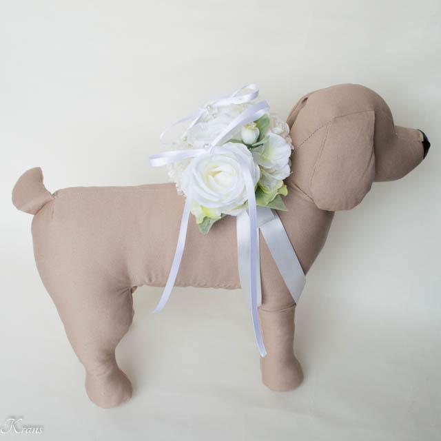 リングドッグ白いバラ6