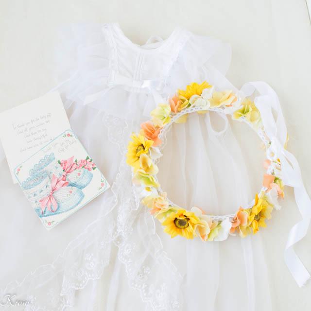 1歳女の子誕生日プレゼント花冠