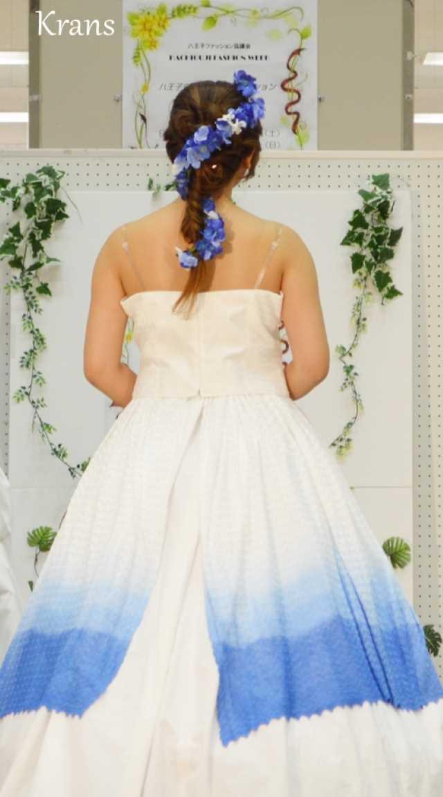 あじさい結婚式ブルー