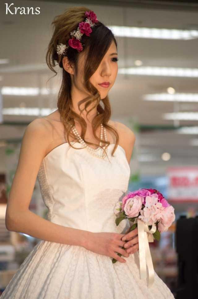 ピンクグラデーション結婚式