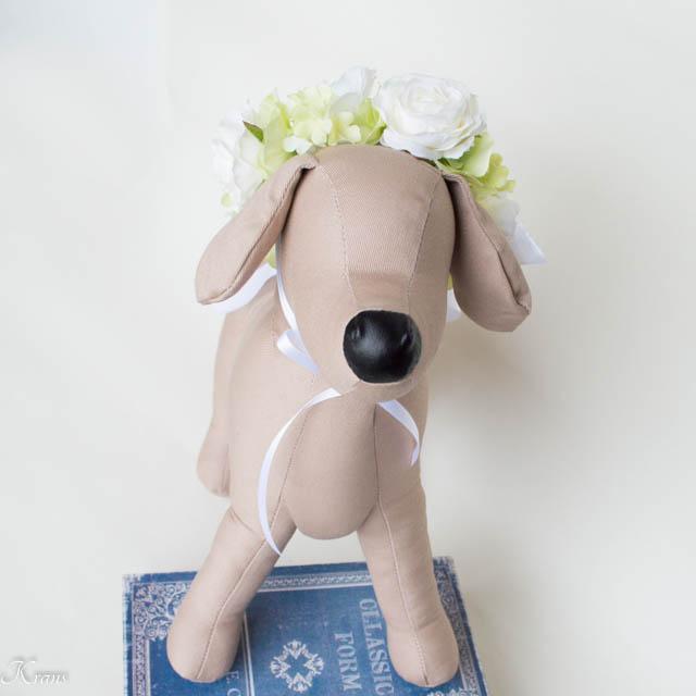 犬撮影用花冠