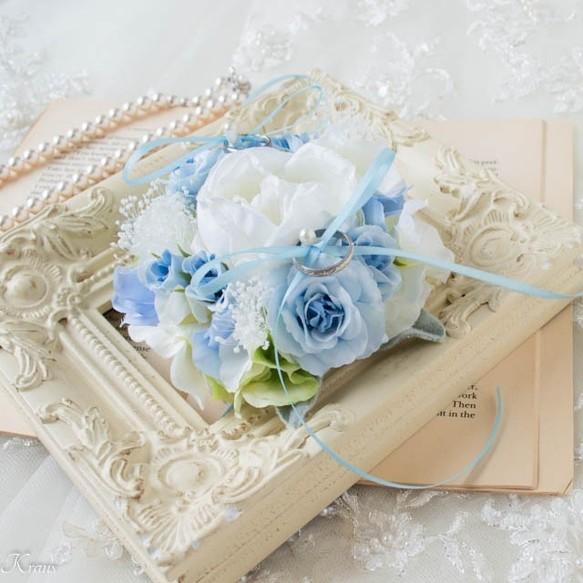 結婚祝いに喜ばれるリングピロー