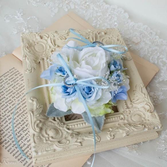 トイプードル結婚式リングピロー