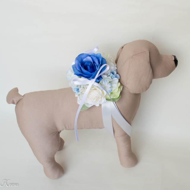 結婚式の犬用リングピロー