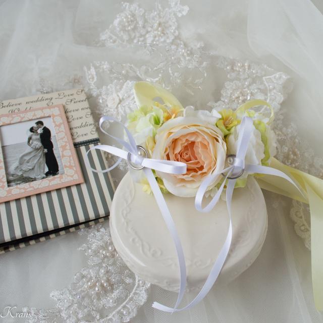首輪リングドッグ用リングピロー犬結婚式