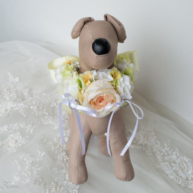 トイプードル用リングピロー結婚式