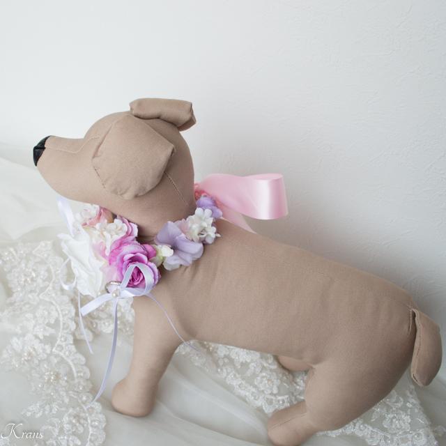 中型犬おすすめリングピロー結婚指輪