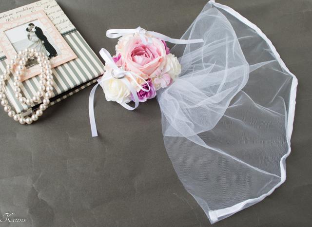 トイプードル結婚式ドレスリングドッグ5