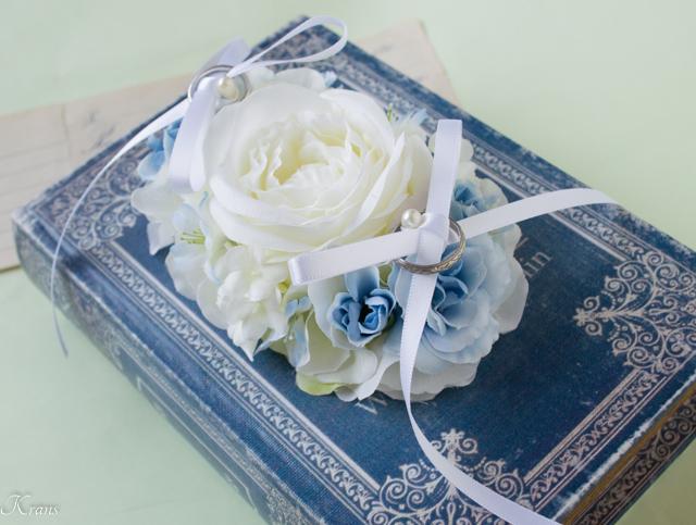 愛犬用結婚式リングピロー5