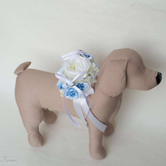 愛犬用結婚式リングピロー7