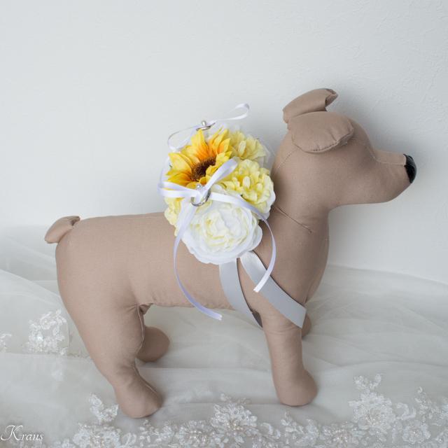 ペット用リングドッグ結婚式6
