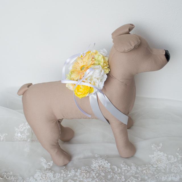 トイブードルリングドッグ結婚式5