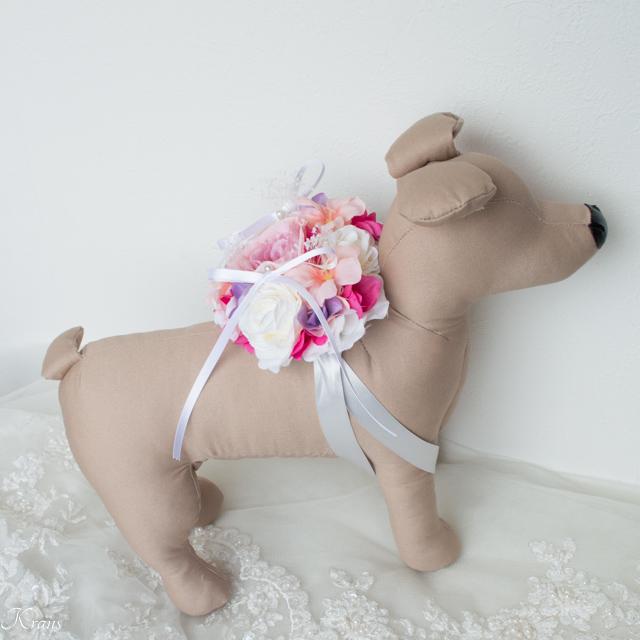 リングベアラー犬用リングピローハート型4