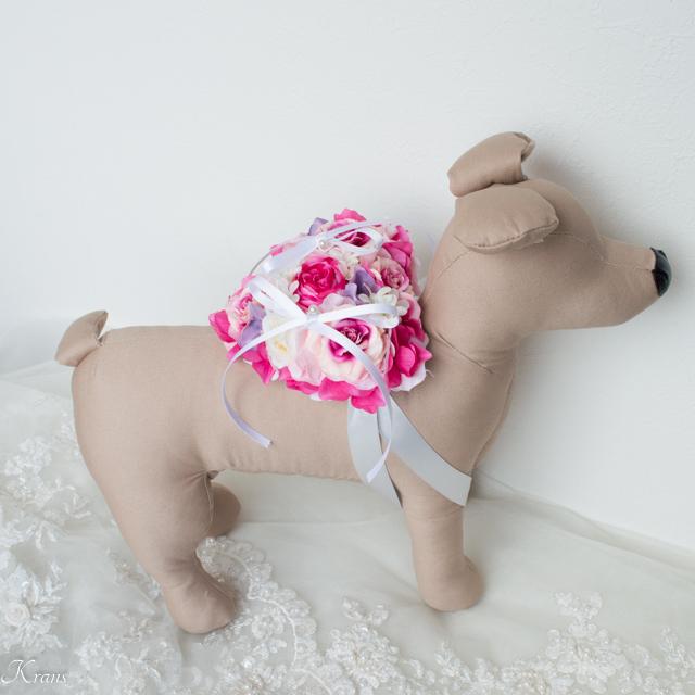 犬リングベアラー用リングピロー5