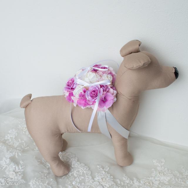 犬のリングベアラーリングピロー可愛いデザイン5
