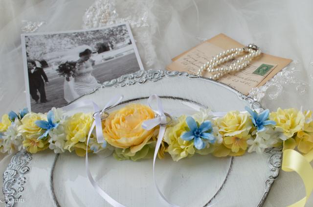 首輪リングピロー犬結婚式4