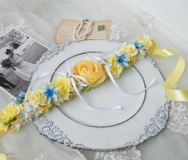 首輪リングピロー犬結婚式3